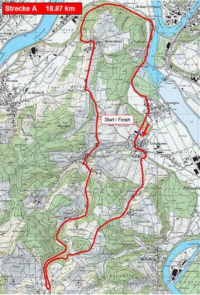 Die Karte zum GP Gippingen