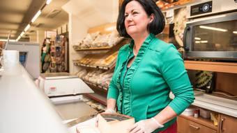 Marianne Meister in ihrem Laden in Messen: «Ich will dem Gewerbe ein Gesicht und eine Stimme geben.»