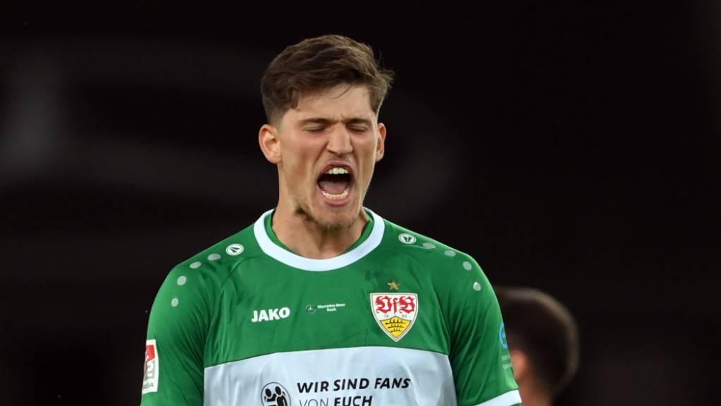 Goalie Gregor Kobel wird vom VfB Stuttgart nun definitiv übernommen