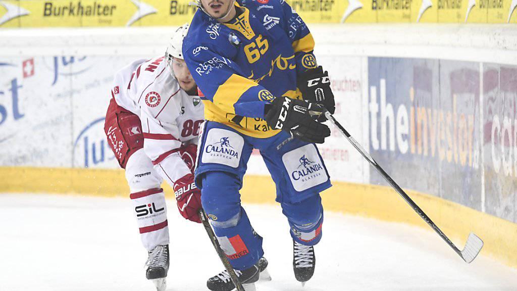 Marc Wieser traf als einziger Spieler im Penaltyschiessen