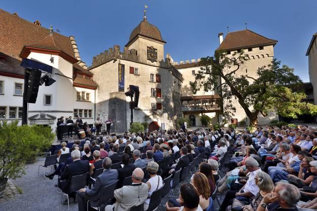 Nach den Sternen greifen An der Lenzburgiade als einzigem klassisch inspirierten Open-Air-Festival geht das.
