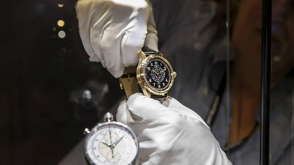 Genfer Uhrenmesse der Uhrenzulieferer auf September verschoben (Symbolbild)