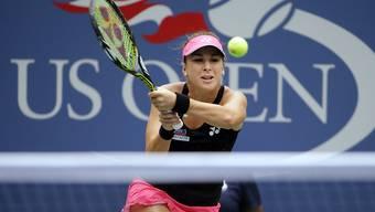 Belinda Bencic konnte ihren Erfolg aus dem Vorjahr am US Open nicht wiederholen