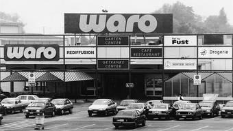 Die Waro zog viel Publikum an. Das Bild aus dem Jahr 1991 dokumentiert auch den technischen Wandel in der Automobilbranche.hr. Aeschbacher