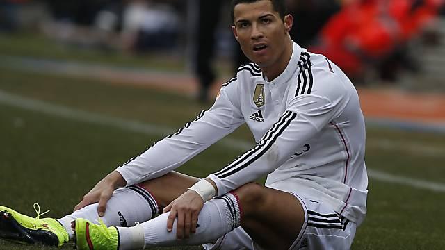 Cristiano Ronaldo war zuletzt nicht mehr so treffsicher