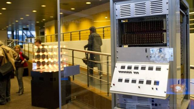 Der älteste Schweizer Computer wurde für den Einsatz im freien Feld konzipiert