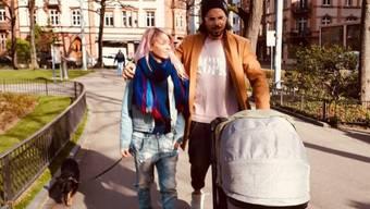 Glückliche Familie: Sängerin Katy Winter und Freund Stephan Meier sind frischgebackene Eltern einer Tochter.