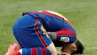 Der FC Barcelona, im Bild Lionel Messi, macht nicht nur sportlich eine schwierige Zeit durch