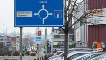 Die Langmattstrasse in Oberwil sollte von der Sackgasse zur Durchgangsstrasse werden.