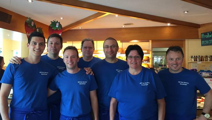 Von links: Riccardo Sturzo, Daniel Adam, Florian Broghammer, Kuno Tschumi, Michael Käsermann, Lisa Berger, Roger Siegenthaler