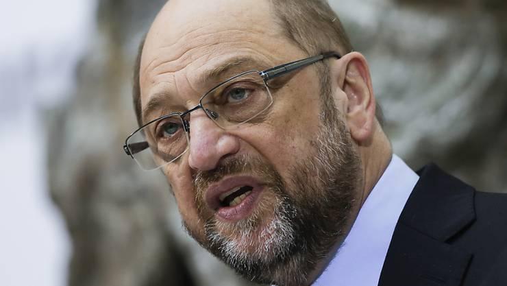 Wird von einem Ausschuss des EU-Parlaments wegen Personalentscheiden gerügt: Der frühere EU-Parlamentspräsident und jetztige deutsche Kanzlerkandidat Martin Schulz. (Archiv)