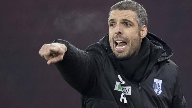 Lausannes Trainer Fabio Celestini