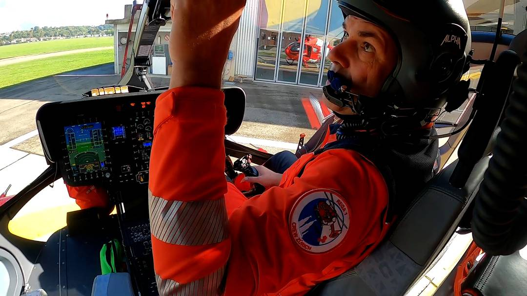 Unterwegs mit der Rega: Pilot Frank Krivanek zeigt den neuen Helikopter