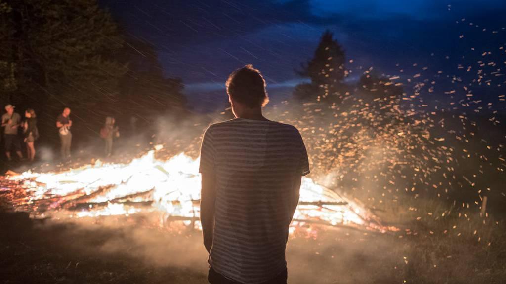 Mit genügend Abstand zum Wald sind Höhenfeuer am 1. August möglich.