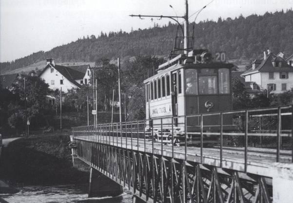 In den letzten 3 Jahren fuhr die LSB als Linie 20 der Städtischen Strassenbahn von Zürich nach Weiningen