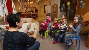 Angelica Fischer leitete die Kinderkrippe Chräienäscht Egerkingen. HR. Aeschbacher