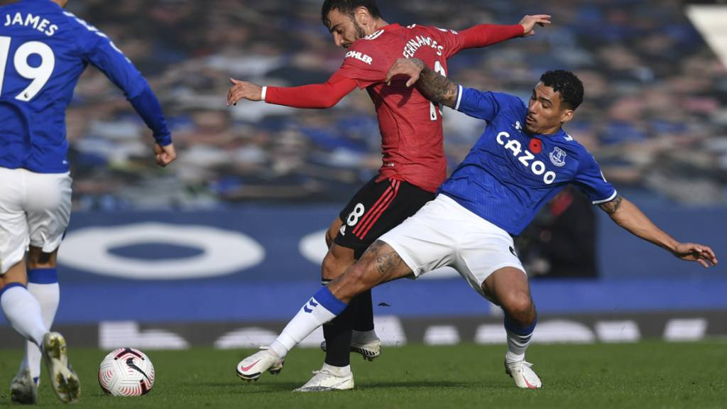 Manchester United siegt auswärts gegen Everton