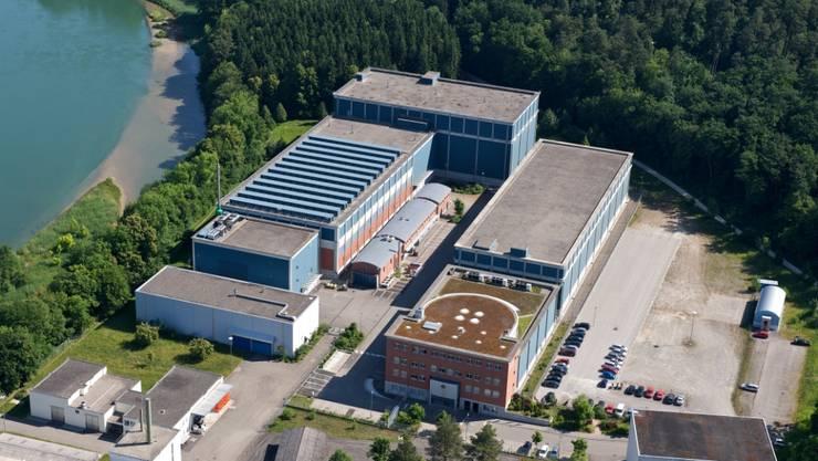 Luftaufnahme der Zwilag in Würenlingen
