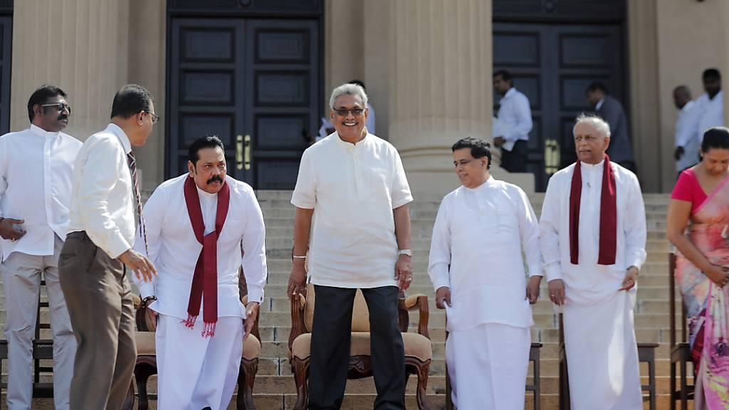 Sri Lankas neuer Präsident kündigt vorgezogene Parlamentswahlen an
