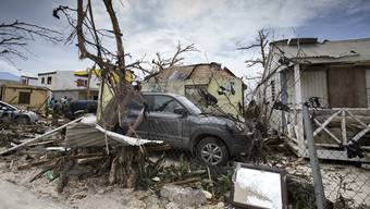 St. Maarten ist komplett zerstört.