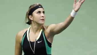 Belinda Bencic tritt an einem weiteren ITF-Turnier an, um sich dem Niveau der WTA-Tour wieder anzunähern
