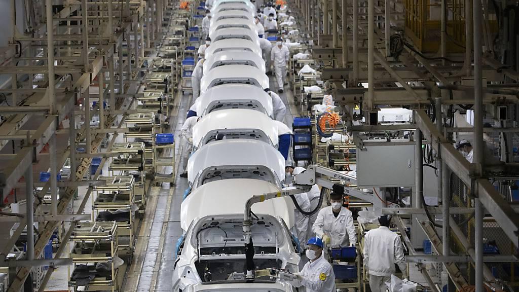 Chinas Ausfuhren erhöhen sich um 11,4 Prozent