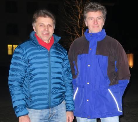 Bernhard Hürzeler (links) und Severin Lüscher wollen die Hegmatte erhalten.