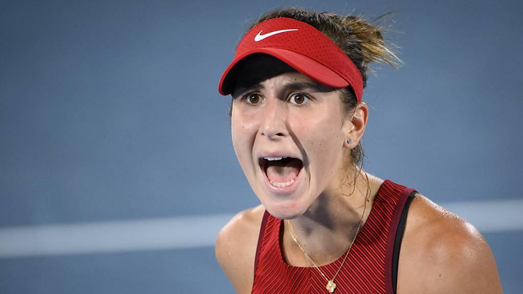 Weiter in der Erfolgsspur: Belinda Bencic gewinnt auch die zweite Partie nach ihrem Olympiasieg in Tokio
