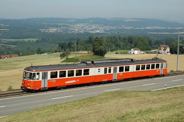 Die BD unterwegs zwischen Dietikon und Bremgarten