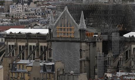 Erstmals seit Brand wieder Messe in Notre-Dame geplant