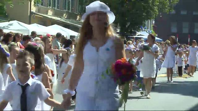 Jugendfest in Lenzburg: Der Höhepunkt