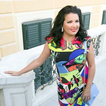 Opernstar Anna Netrebko ist eine der bekanntesten Sopranistinnen der Welt.