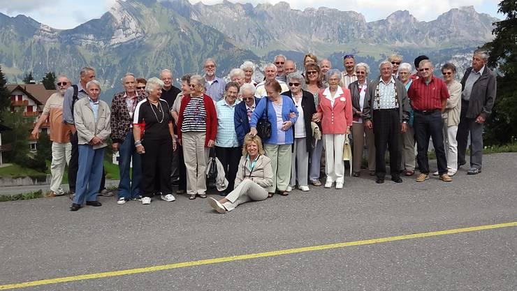 Gruppenfoto Seniorenausflug