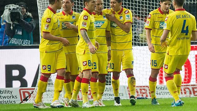 Hoffenheim führte die Hertha phasenweise regelrecht vor