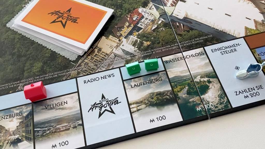 Das Monopoly Aargau ist wieder da