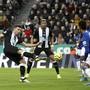 Trotz diesem Treffer von Fabian Schär verliert Newcastle das Heimspiel gegen Everton