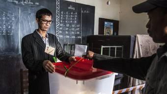 Wahllokal in Antananarivo, Madagaskar (Archiv)