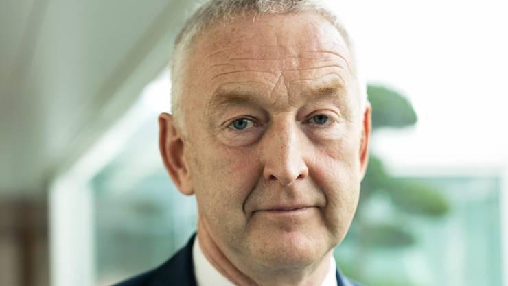 Der Konzernchef der Swiss Thomas tritt auf Ende 2020 zurück. Aufgenommen im Swiss-Bürogebäude in Kloten am 30.09.2020