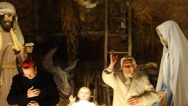 Der Papst predigt am traditionellen Neujahrsgottestdienst