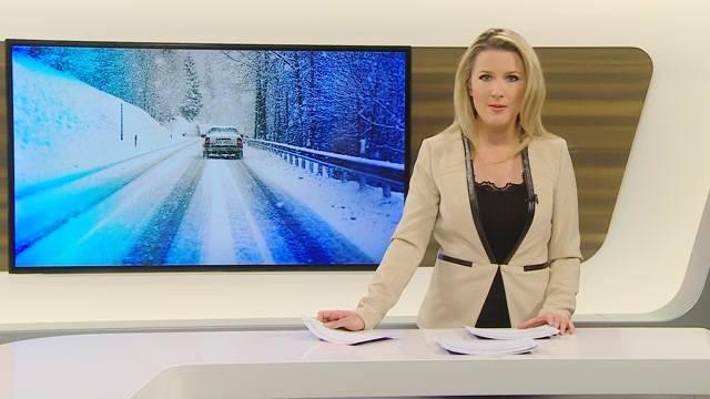 Mehr Unfälle wegen Schnee