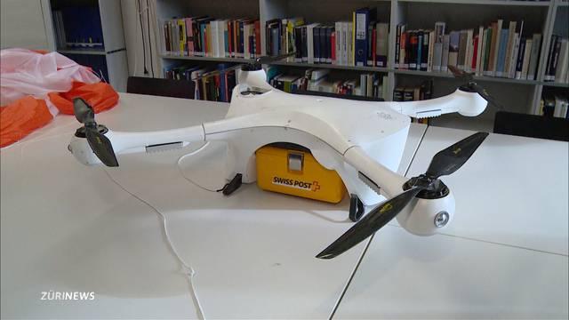 Vermisste Post-Drohne im Zürichsee gefunden