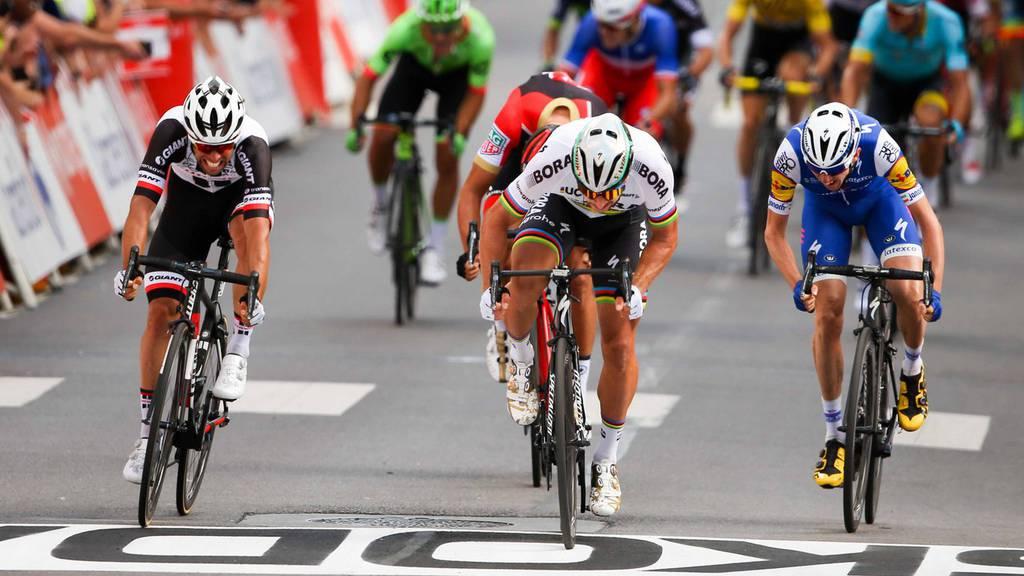 Sagan-Ausschluss  an Tour de France