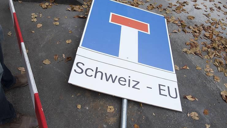 Der EU-Rahmenvertrag ist auf Eis gelegt. (Symbolbild)