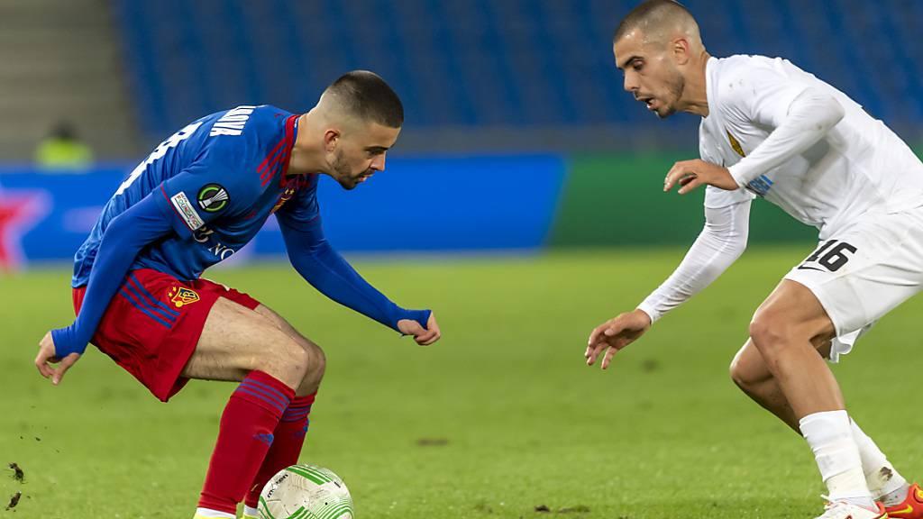 FC Basel nach 4:0-Führung doch noch gefordert