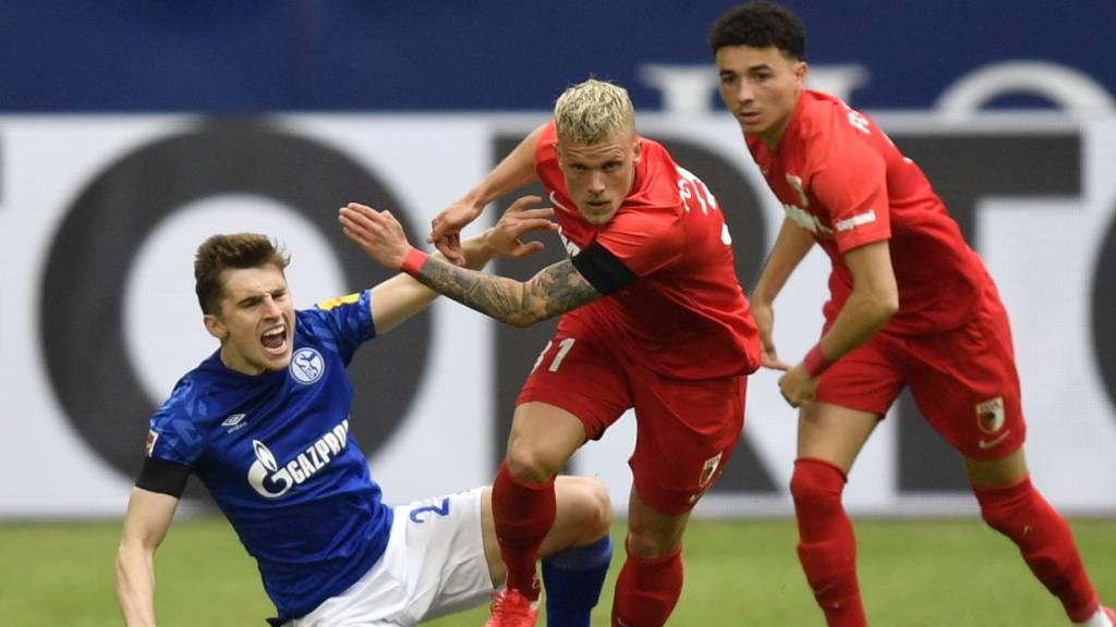 Schalke geht auch gegen Augsburg unter