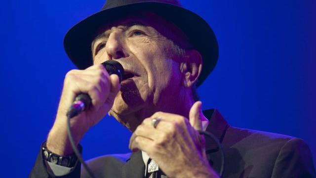 Leonhard Cohen an der Eröffnung des Montreux Jazz Festival