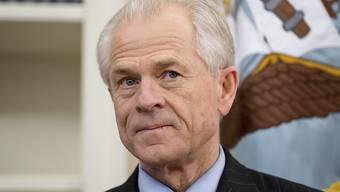 """Der US-Handelsbeauftragte Navarro bringt seine Hardliner-Positionen im Handelsstreit auch unter dem Pseudonym """"Ron Vara"""" in Umlauf. (Archivbild)"""