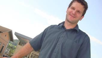 Gregor Zimmer, Parteisekretär der Grünen Aargau