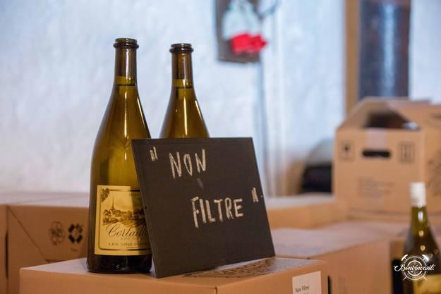 Ein süffiger Spasswein: Der Non Filtré passt gut zu Fondue, Frischkäse, Seefisch und Spargeln – oder an der Fasnacht.