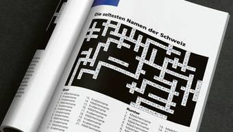 Ein unlösbares Kreuzworträtsel: Mädchen- und Bubennamen in Basel-Stadt. Die Vielfalt ist schlicht zu gross.